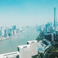 Shanghai View By Day
