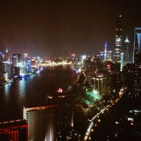 Shanghai View By Night