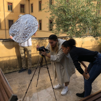 Filming in Rome 2