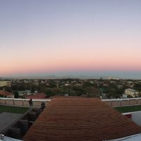 Sunset view from home