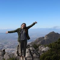 Me on top of Table Mountain