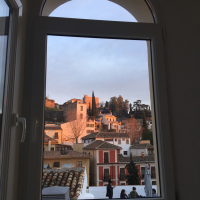 View from IES Abroad Granada Center
