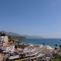 View of the coast of Nerja