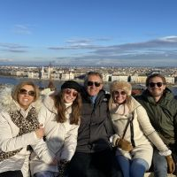 Fisherman's Bastion with my Family