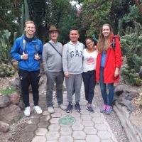 Class field trip to the Botanical Garden of Quito