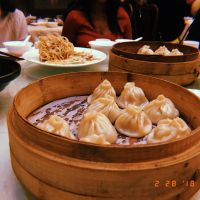 Soup dumplings (not gluten free, but they smell delicious!)