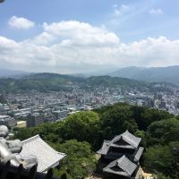 From the top of Matsuyama Castle