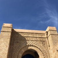 The Kasbah of the Udayas in Rabat