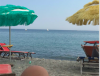 The Mediterranean seen from my beach chair in Italy!