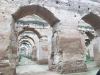 a row of arches