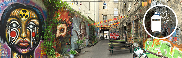 Best places to study abroad for street art enthusiasts